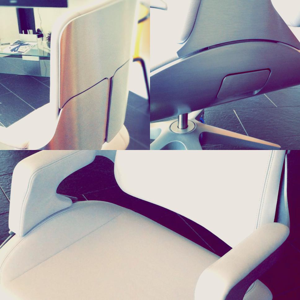 Unboxing fauteuil Silver Interstuhl