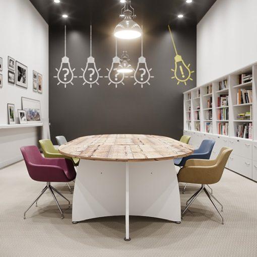 Table de réunion Ensemble de buronomic