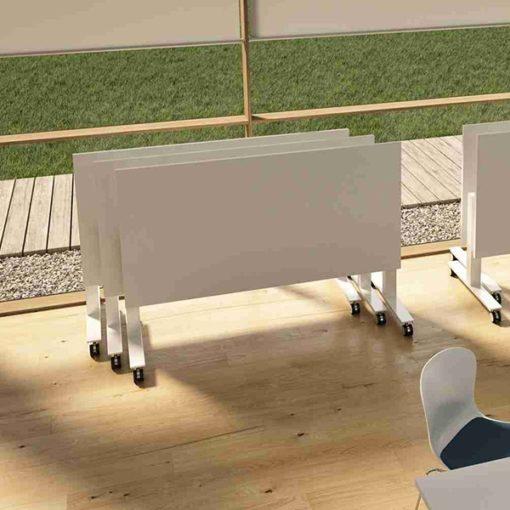 Table réunion plateau rabattable Winglet de Bralco