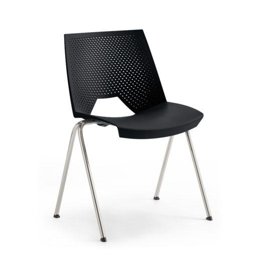 chaise Flirt noir