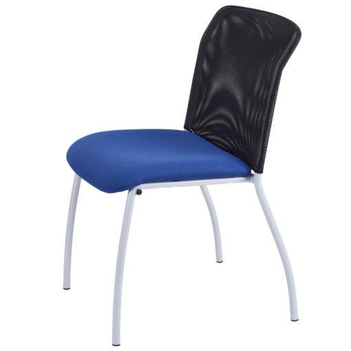 chaise de réunion Geri bleu