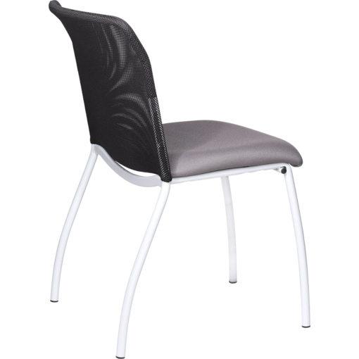chaise de réunion Geri gris