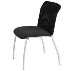 chaise de réunion Geri noir