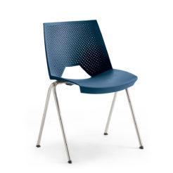 chaise Flirt bleu