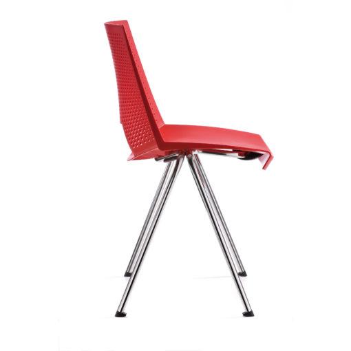 chaise Flirt rouge